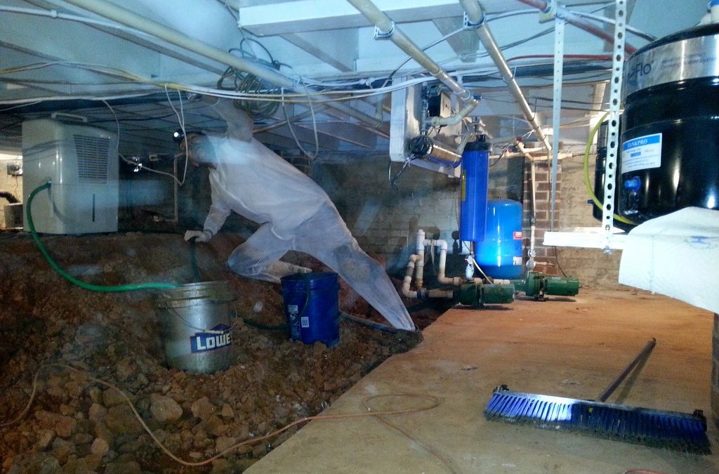 Crawl Space Encapsulation | Mold Remediation | Mold Inspection | Greenville SC